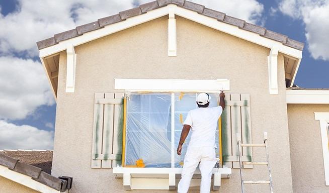 外壁 塗装 補助